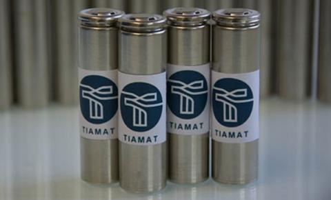 CNRS에서 분사한 스타트업인 Tiamat社가 개발한 나트륨이온 배터리