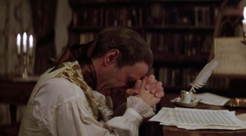 모차르트의 천재성을 시기하며 신에게 절규하는 살리에리 ⓒ 아마데우스 홈페이지