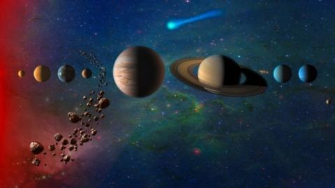 NASA는 2020년대 중반까지 추진할 과제를 혜성과 토성 위성 탐사로 정했다 ⓒ NASA
