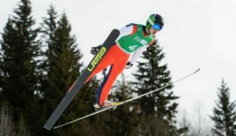 1992년 알레르빌 올림픽 이후부터 V자세로 비행하는 것이 기본적인 자세로 통하고 있다 ⓒ olympic.org