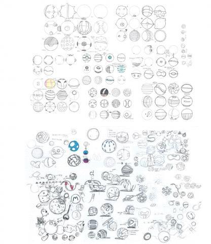 고미볼은 단순한 공 모양이지만 수많은 빅데이터를 조합해 사람들의 상상력을 공 하나에 담았다. ⓒ https://www.wadiz.kr