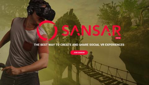 린든 랩이 만든 가상현실 컨텐츠 '산사' 프로젝트.  ⓒ https://www.sansar.com/