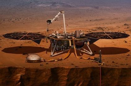 화성 내부 구도 연구할 '인사이트' 탐사선
