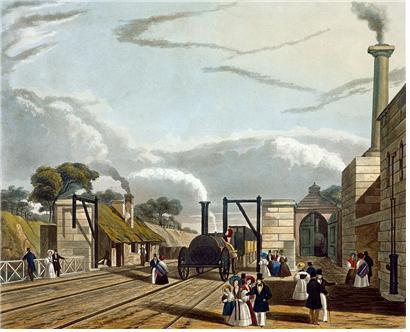 1차 산업혁명 시대의 도시 모습 ⓒ 위키미디어