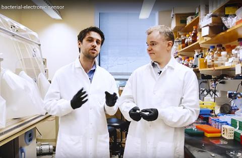 연구를 수행한 논문 제1저자인 마크 마이미 연구원(왼쪽)과 필립 내도우 박사(오른쪽). CREDIT: MIT School of Engineering