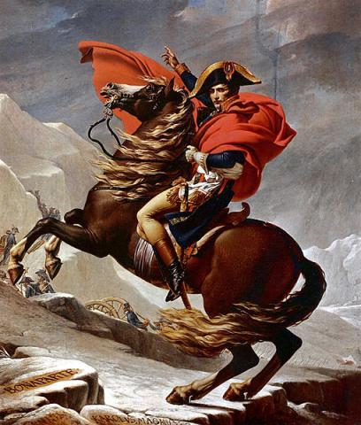 유럽을 평정하며 영웅으로 칭송되던 나폴레옹은 사실 콤플렉스 덩어리였다. ⓒ Public Domain