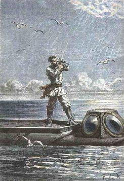 쥘 베른의 『해저 2만리』에 등장하는 네모 선장.  ⓒ 위키백과