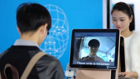 @베이징, 상하이 등 일부 1선 대도시 소재 4대 대형 은행에서는 빠르면 오는 9월 '페이스 오프'라고 불리는 안면인식을 통한 신분 확인 서비스 도입을 앞두고 있다.  ⓒ 바이두 이미지DB