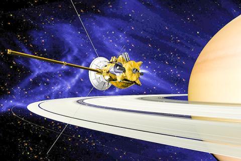 1997년 발사된 미국과 유럽의 공동 토성 탐사선인 카시니/ 호이겐스. Credit: Wikimedia Commons / NASA/JPL