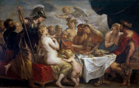에리스(디스코르디아)의 황금 사과.  ⓒ 위키백과자료