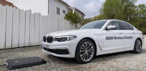 7월 공식 출시를 앞둔 BMW의 무선충전 시스템