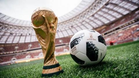 러시아 월드컵의 공인구인 텔스타18 ⓒ FIFA.com