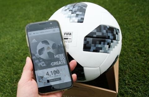 최초로 ICT 기술이 접목된 텔스타18 ⓒ interfootball
