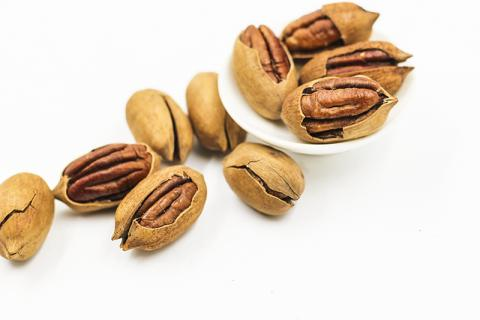 서양 견과류인 피칸을 매일 조금씩 먹으면 심혈관 위험이 줄어든다고 한다.  ⓒ Pixabay