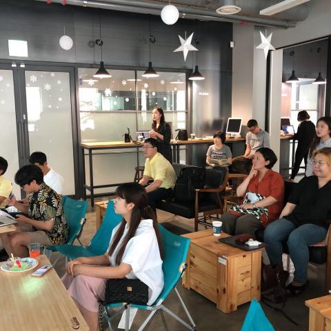 27일 강원창조경제센터가 마련한 지역생활문화 청년혁신가 1차 데모데이에서는 11개팀이 진행한 지역 혁신 프로젝트 아이디어가 소개됐다. ⓒ 조인혜/ ScienceTimes