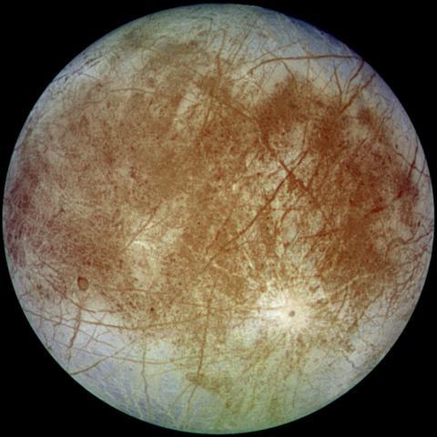 목성의 위성 유로파.  ⓒ 위키백과 자료