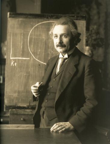 1921년의 알버트 아인슈타인 ⓒ Wikipedia
