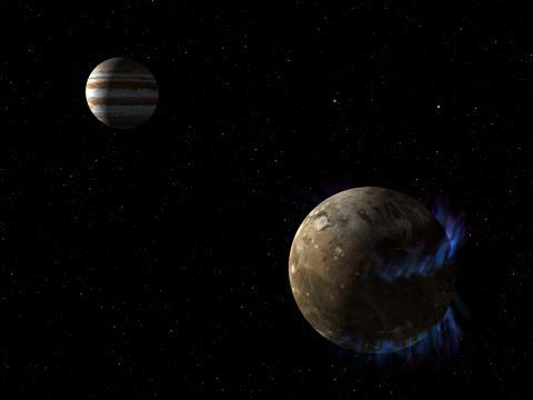 최근 12개의 목성을 돌고 있는 새로운 위성들이 한까번에 발견됐다. 이로써 목성을 돌고 있는 달의 수는 79개로 늘어났다.  ⓒNASA