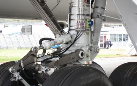 이착륙시 사용하는 랜딩기어는 항공기 소음의 또다른 원인이다 ⓒ NASA