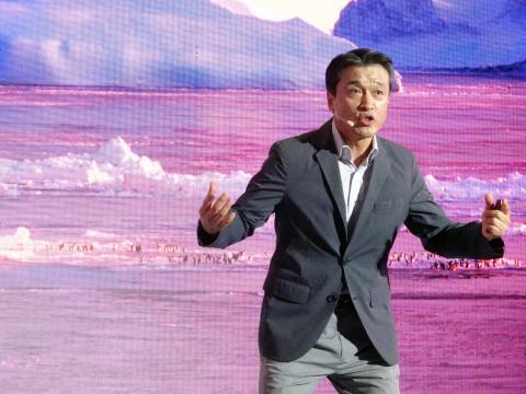 윤호일 극지연구소 소장(세종기지 탐험대장)이 남극의 극한상황을 극복방법에 대해 열띤 강연을 벌였다. ⓒ 김은영/ ScienceTimes