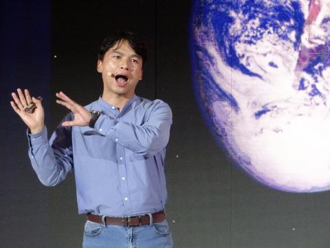 문경수 탐험가는 직접 화성이주프로젝트에 합류해 겪었던 탐험기를 흥미롭게 풀어냈다. ⓒ 김은영/ ScienceTimes