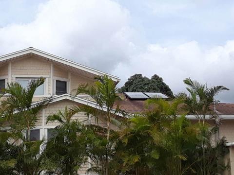연평균 26~28도를 유지하는 하와이의 따뜻한 햇살은 태양열 발전에 적합하다. ⓒ 임지연 / ScienceTimes