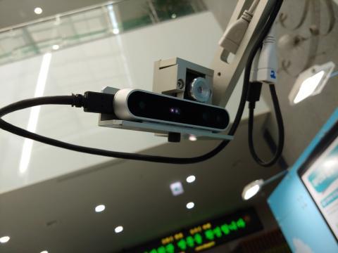 3D카메라와 광학카메라를  장착해 잎의 상황을 면밀히 감시한다.  ⓒ ScienceTimes