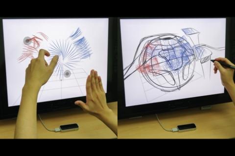 KAIST '에어 스캐폴딩' 기술을 시연하는 모습.