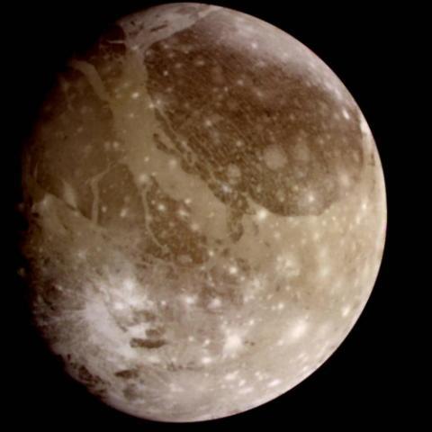 목성의 제1 위성 가니메데. ⓒ 미국항공우주국/제트추진연구소
