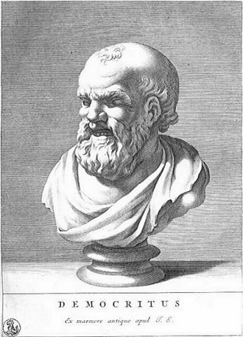 원자설을 처음 주장한 고대 그리스의 데모크라토스 ⓒ Free photo
