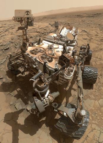 화성을 관찰하는 화성탐사선의 모습. ⓒ ScienceTimes