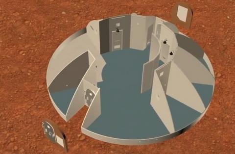 행성 탐사를 위해 NASA가 3D 프린터로 기지를 건설하는 공모전을 개최했다  ⓒ NASA