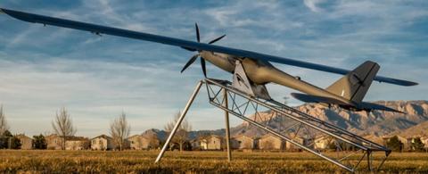 레이저에 태양광을 융합한 하이브리드 방식의 군사용 드론 ⓒ DARPA