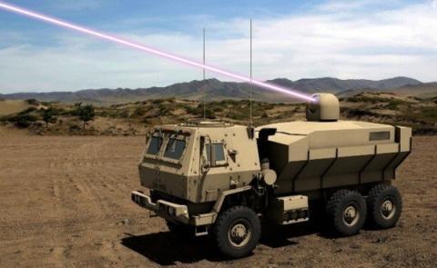2022년 실전 배치될 레이저 포의 상상도 ⓒ Lockheed Martin