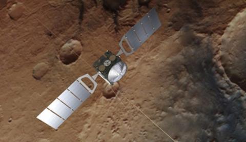 화성 탐사선 '마스익스프레스'의 상상도