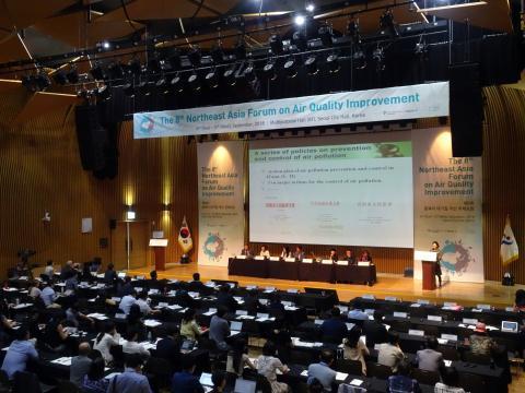 이 날 포럼에서는 대기오염대책에 대해 동아시아 지역 전체가 서로 협력해 해결해나가야한다는 공감대가 형성됐다. ⓒ 김은영/ ScienceTimes