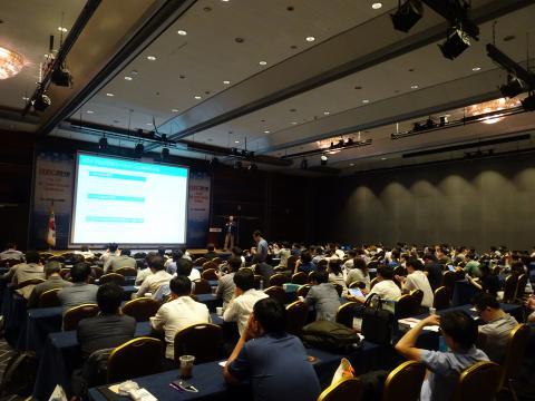 이 날 콘퍼런스에는 수많은 시민들이 참석해 최근들어 기승을 부리고 있는 사이버 테러를 대응할 수 있는 보안솔루션에 큰 관심을 보였다. ⓒ 김은영/ ScienceTimes