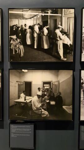 대서양을 건너 미국에 입국한 이민자들은 엘리스 섬에 격리되어 꼼꼼한 검역 절차를 거쳐야 했다. 엘리스 섬 이민 박물관에서.  ⓒ 박지욱 / ScienceTimes