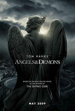 반물질로 사람들을 위협하는 장면이 나오는 영화 천사와 악마의 포스터 ⓒ 소니픽처스