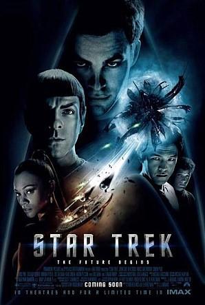 반물질을 이용한 초광속 엔진의 우주전함이 등장하는 영화 스타트렉의 포스터 ⓒ CJ엔터테인먼트