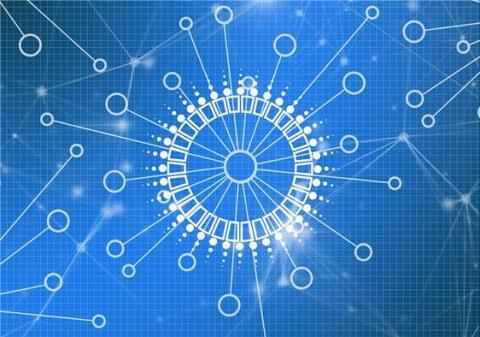 분산형 모습을 가진 블록체인 ⓒ Pixabay)
