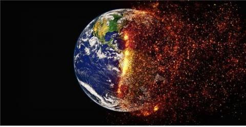 에너지 수요 증가로 인한 지구 온난화가 심각해질 전망이다. ⓒ Pixabay