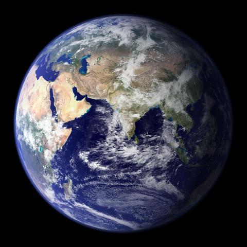 지구 내핵은 예상대로 단단하다. ⓒPixabay