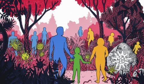 미국 스탠포드대 과학자들은 현생인류와 네안데르탈인과의 이종교배를 통해 현대인에게 바이러스 감염을 막을 유전 도구가 전해졌다는 연구를 내놓았다.  CREDIT: Claire Scully