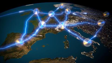 그동안 많은 분야의 과학자들이 연구해온 양자 인터넷 연구가 최근 실현단계에 도달했다는 연구 결과가 발표됐다. 빠르고 정확하며, 안전한 정보통신이 가능한 꿈의 인터넷 시대가 다가오고 있다.  ⓒQuTech/TU Delft/Scixel