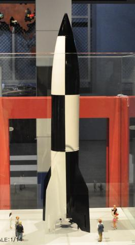 V-2 로켓. 제주항공우주박물관 ⓒ 박지욱 / ScienceTimes