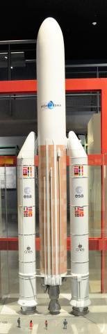 ESA의 아리안 로켓. 제주항공우주박물관.  ⓒ 박지욱 / ScienceTimes