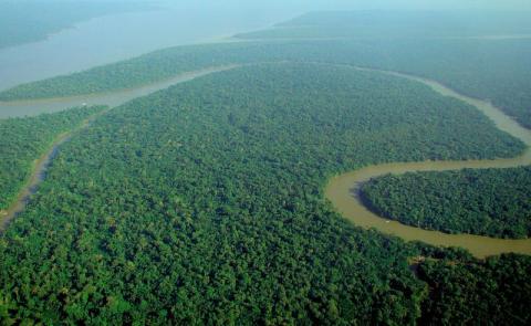 남아메리카를 흐르는 아마존 강의 이름은 그리스신화에서 유래된 것이다. ⓒ Wikimedia