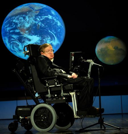 블랙홀에 관한 호킹복사 이론을 내놓았던 생전의 스티븐 호킹 박사 ⓒ wikipedia