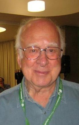 2013년도 노벨물리학상을 수상한 피터 힉스 ⓒ Gert-Martin Greuel